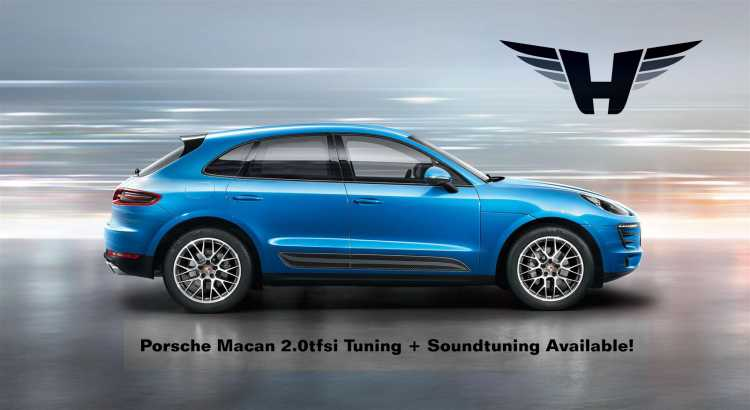 Soundtuning exhaust on Porsche Macan 20tfsi