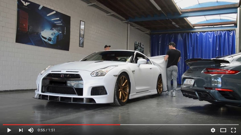 Nissan GTR met complete make-over by Heinz: 750hp …