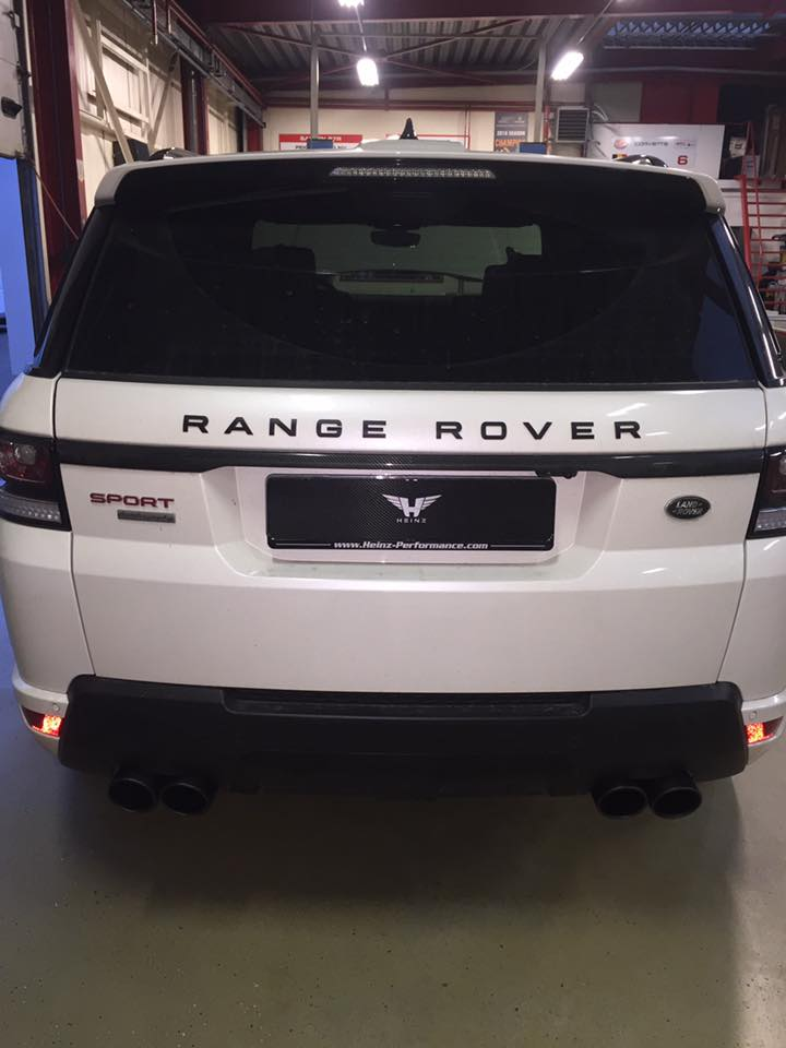 Build to order Range Rover Sport 5.0