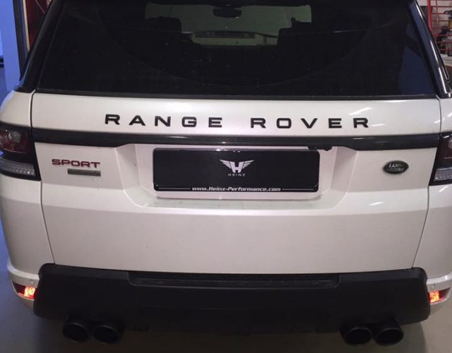 Build to order Range Rover Sport 5.0d