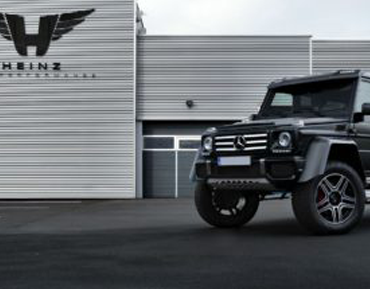 G500 4×4² equipped with a customised Quicksilver