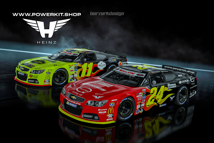 PK Carsport by Heinz start met hoge ambities in NASCAR met www.POWERKIT.shop