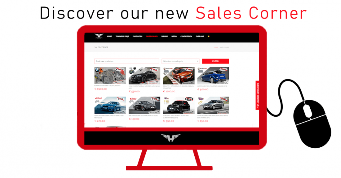 Discover our new Sales Corner!