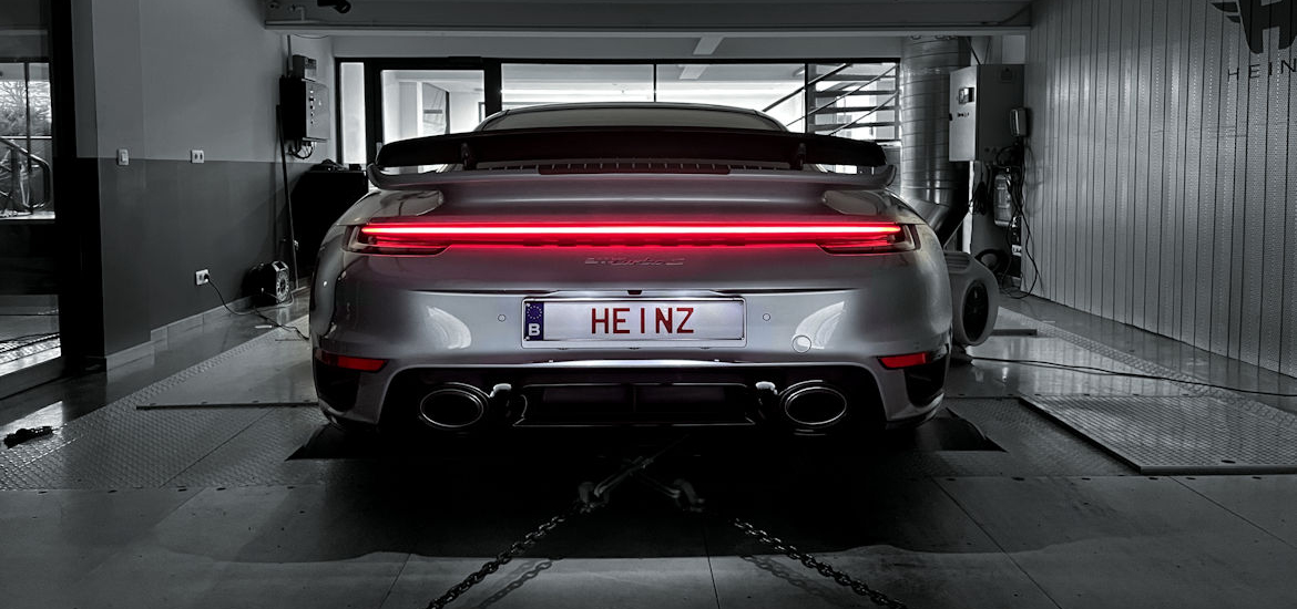 3x new 992 Turbo S tuned by Heinz!